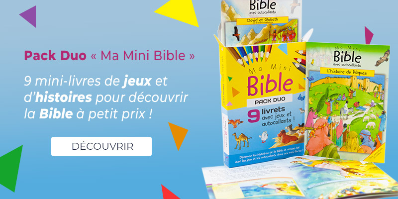 Image du pack de mini-bibles