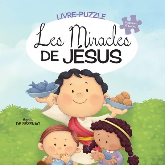Miracles de Jésus (Les) Livre Puzzle