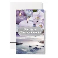"""Mignonette Condoléances : """"Bougies, orchidées, mer"""""""