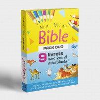 Pack Duo 9 livrets Ma mini bible