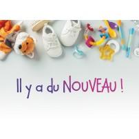 Carte postale - Chaussures, accessoires et doudou de bébé