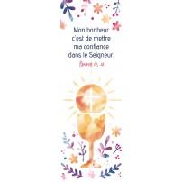 Signet - Coupe, soleil et croix dessinés