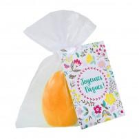 "Bougie ""Œuf"" orange"
