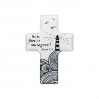 "Magnet motif phare ""Croix"""