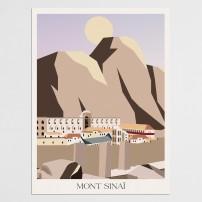 Poster 30x40 Le Mont Sinaï