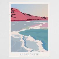 Poster 30x40 La Mer Morte
