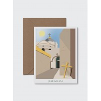 CARTE ST : Jérusalem - Quartier Chrétien