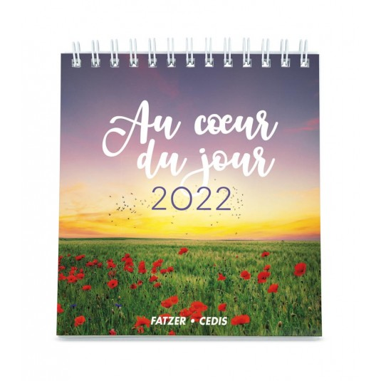 Au coeur du jour - Calendrier 2022