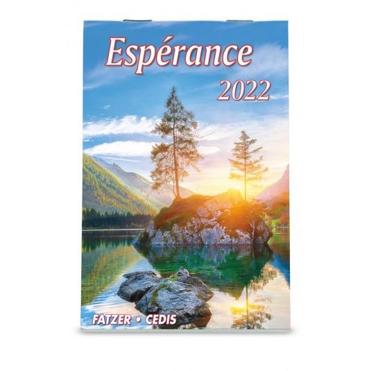 Mini Espérance - Calendrier 2022