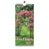 Fleurs avec versets bibliques - Calendrier 2022