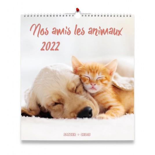 Nos amis les animaux - Calendrier 2022