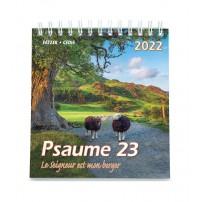 Psaume 23 petit format - Calendrier 2022