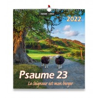 Psaume 23 Grand Format - Calendrier 2022