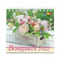 Bouquets Petit Format - Calendrier GBK 2022