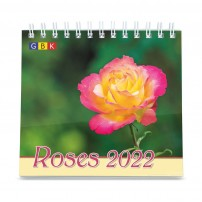 Roses Petit Format - Calendrier GBK 2022