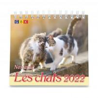 Nos amis les chats  PF - Calendrier GBK 2022