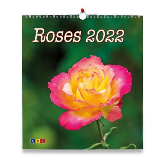 Roses Grand format - Calendrier GBK 2022