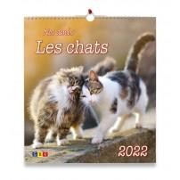 Nos amis les chats GF - Calendrier GBK 2022