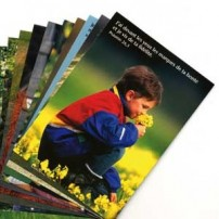 Lot cartes postales enfants