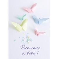 CARTE FLASH : Papillons en origami