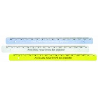 Regle 15 cm avec texte