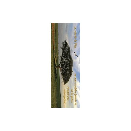 Signet Horizontal Cigognes et arbre