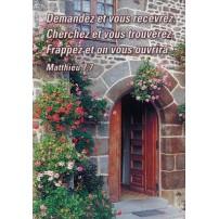 Mini cartes texte biblique