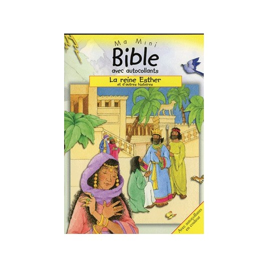 Reine Esther (La) Ma mini bible autocollants