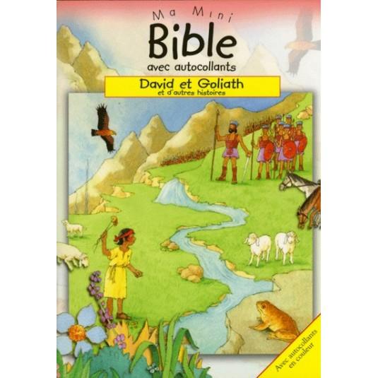 David et Goliath Ma mini bible autocollants