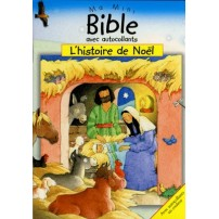 MINI BIBLE AUTOCOLLANTS NOEL