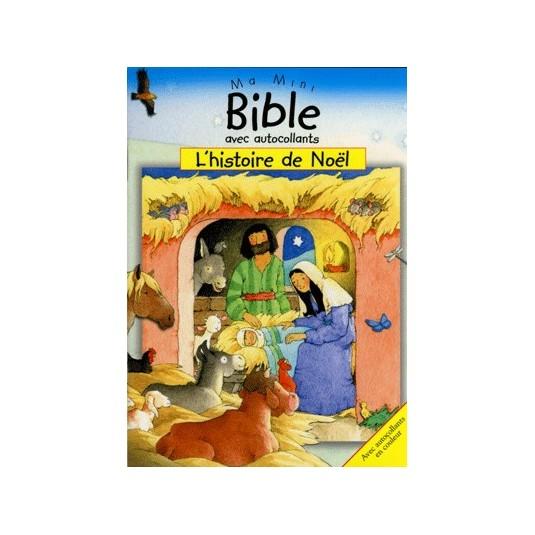 Histoire de Noël (L') Ma mini Bible autocollants