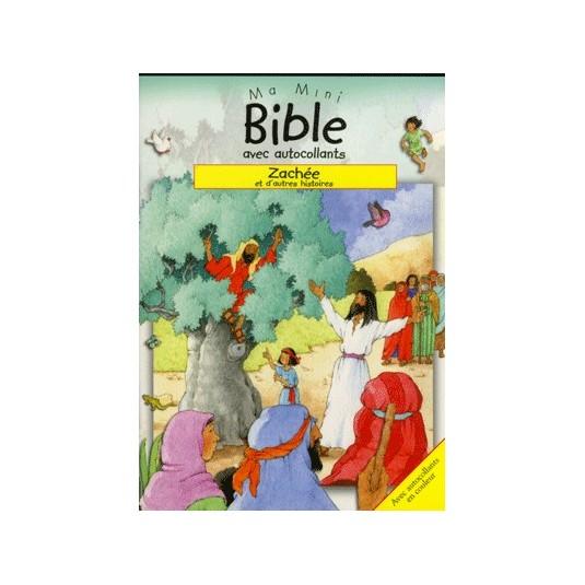 Zachée Ma mini bible autocollants