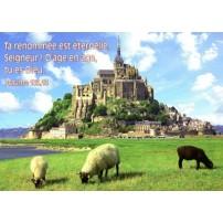 Cartes Postales avec Texte Biblique