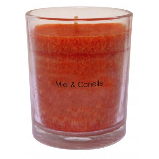 Bougie parfumée miel-cannelle H8 cm d6.5cm Le Seigneur...