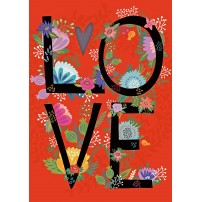 CARTE FLASH : LOVE