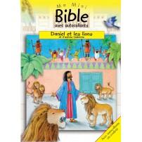 Daniel et les lions  Ma mini Bible autocollants