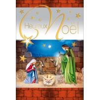 CARNET FA : HN Jésus, Marie, Joseph ds l'étable