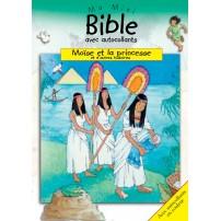 Moïse et la princesse  Ma mini bible autocollants