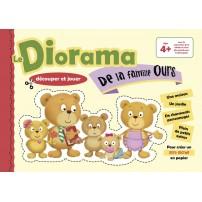 Le diorama de la famille ours