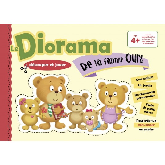 Diorama de la famille ours (Le)