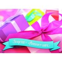 MINICARTE : Cadeaux de toutes les couleurs