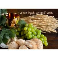 MINI CARTE : Coupe,pain, raisin et épis