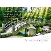 CARTE VB : Pont sur un ruisseau