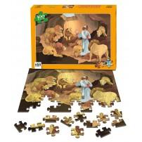 Puzzle Daniel dans la fosse aux lions, 100 pièces, à partir de 5 ans