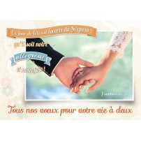 CARNET HM : Mariés qui se tiennent la main