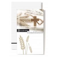 CARNET SC : Epis de blé,croix
