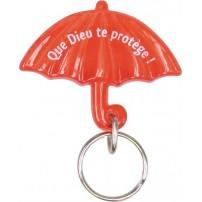 Porte-clés parapluie rouge