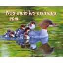 CAL. 2018 Nos amis les animaux