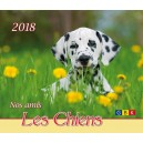 CAL.GBK 2018 Nos amis les chiens Petit Format