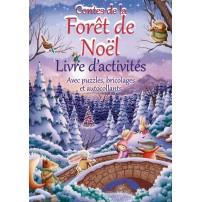 Conte de la Forêt de Noël : Livre d'activités
